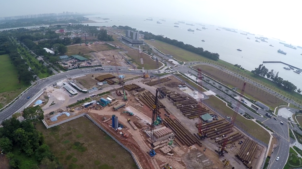 MRT Project– Marina South Station